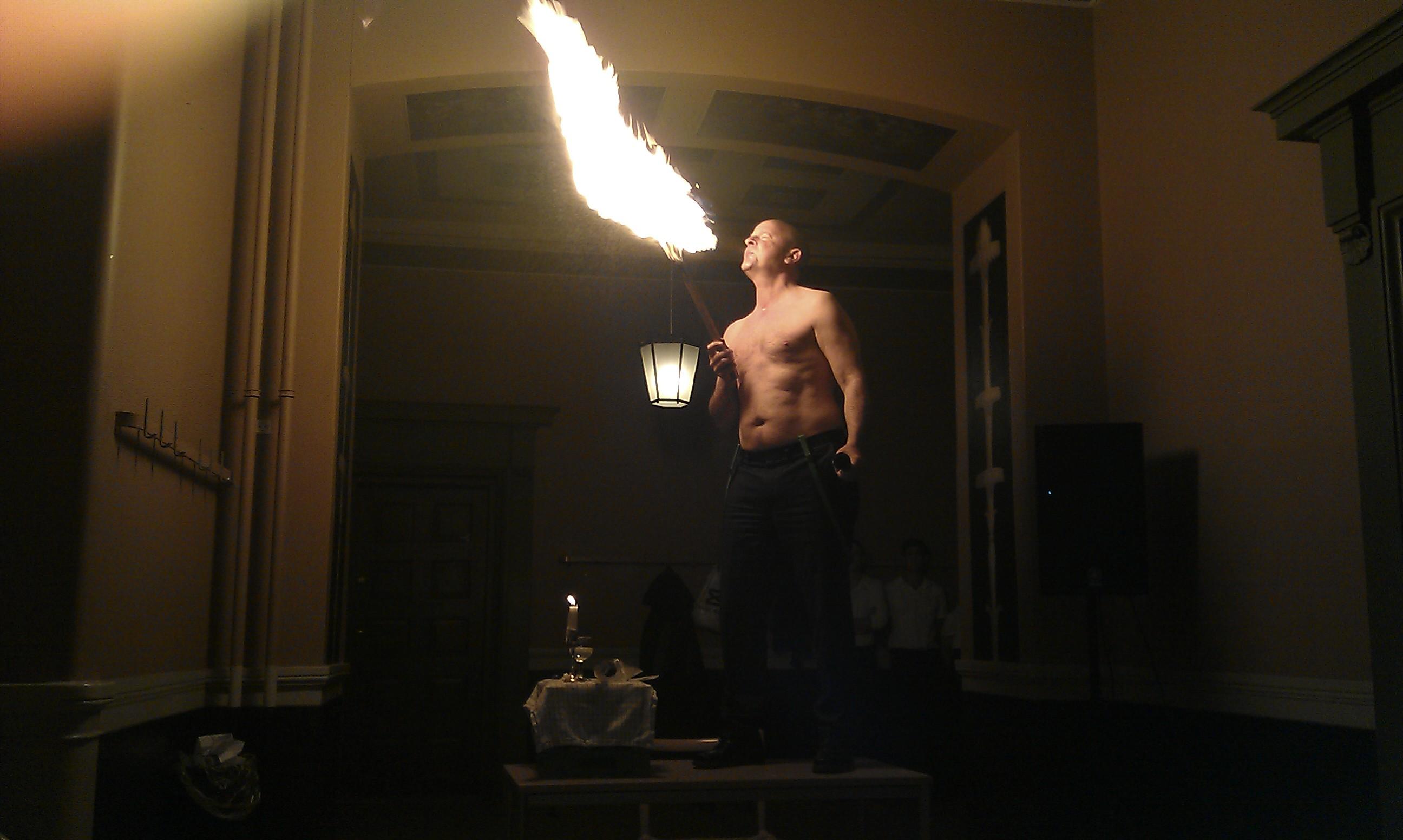 Lars Goldschmidt blæser ild på møde på Sorø